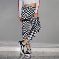 """Dog Town"" Checkered Track Pants"