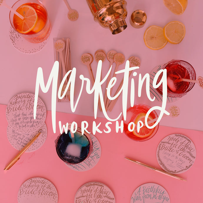 Marketing Workshop - kristenley.com - Kristen Ley - Thimblepress
