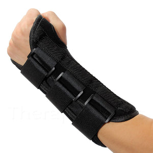 Left Hand Adjustable Wrist Support Brace with Splint