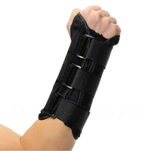 Right Hand Adjustable Wrist Support Brace with Splint