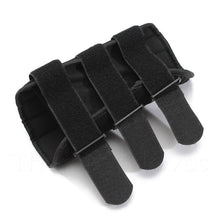 Adjustable Velcro Tabs on Wrist Support Brace with Splint