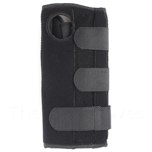 Adjustable Wrist Support Brace with Splint in Black