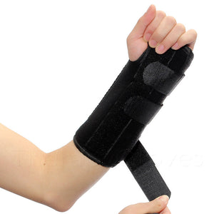 Tighten Wrist Support with Velcro Tabs
