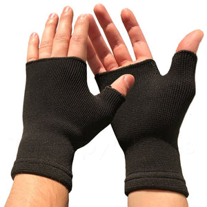 Pair of Wrist and Thumb Brace Support Gloves