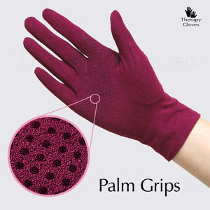 Grip Closeup Nu Suede Perspiration Absorbing Anti-Slip Driving Gloves
