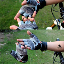 Easy Pull off Finger Loups on Cycling Gloves