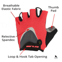 Features of the Half Finger Cycling Gloves