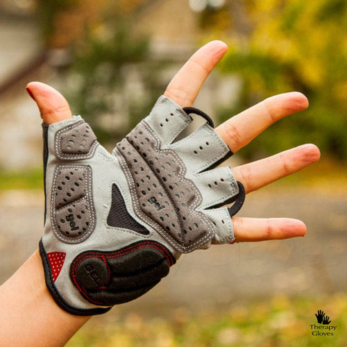 Half Finger Cygling Gloves with Silicone Shock Pads