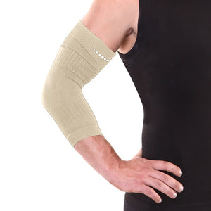 Pain Relieving ELBOW COMPRESSION Infrared Band - Beige