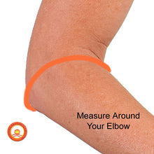 Measure for the Far Infrared Health Therapy Elbow Band