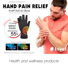 Far Infrared 3/4 Finger Actiive Gloves for Hand Pain Relief