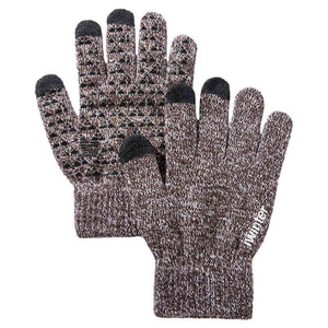 Knitted  Touch Screen Wool Cashmere Gloves