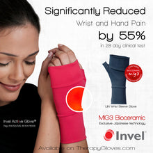 MIG3 Bioceramic No Finger Infrared Wrist Gloves for Pain Relief