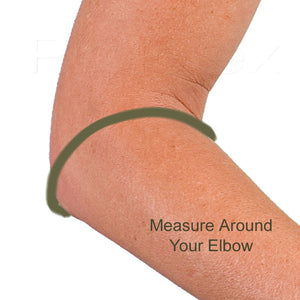Measure Around Elbow for Compression Band