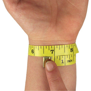 Measure Around Wrist for Compression Wrist Sleeves