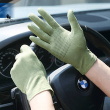 Avacado Green Gloves for Driving
