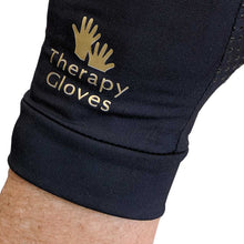 Closeup Therapeutic COPPER Full Finger Gloves