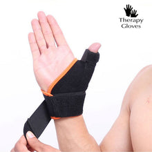 Loop & Hook with Elastic for Thumb Brace Wrist Support