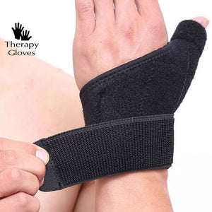 Easy Adjustable wrist support  - good for CTS and Wrist Pain