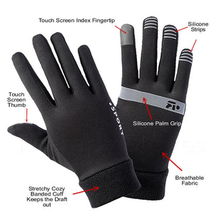 Features of the Touch Screen Non-Slip Winter Gloves