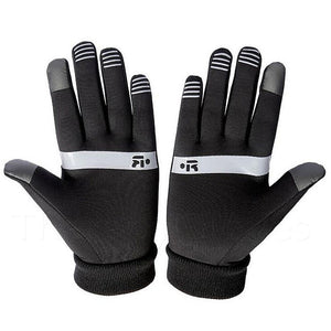 Palms of the Touch Screen Non-Slip Winter Gloves