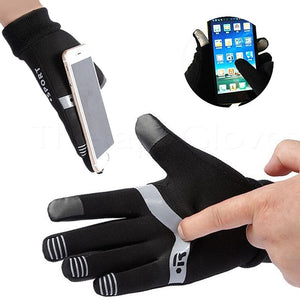 Touch screen friendly with Silicone strips on palms