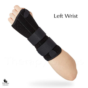 Double Splinted Wrist Brace for Post Surgery and injuries - Left Hand