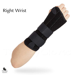 Right Hand Support Splint:  With adjustable Velcro Loop tabs, you can get just the right tension support You need.