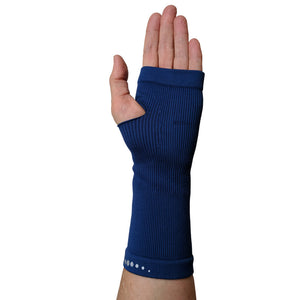WRIST COMPRESSION Infrared Band - Navy Blue