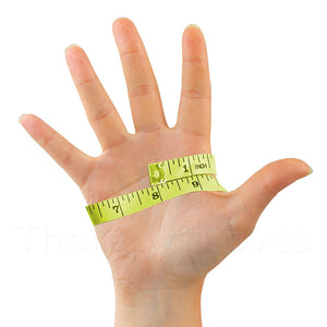 Measure around hand for glove size
