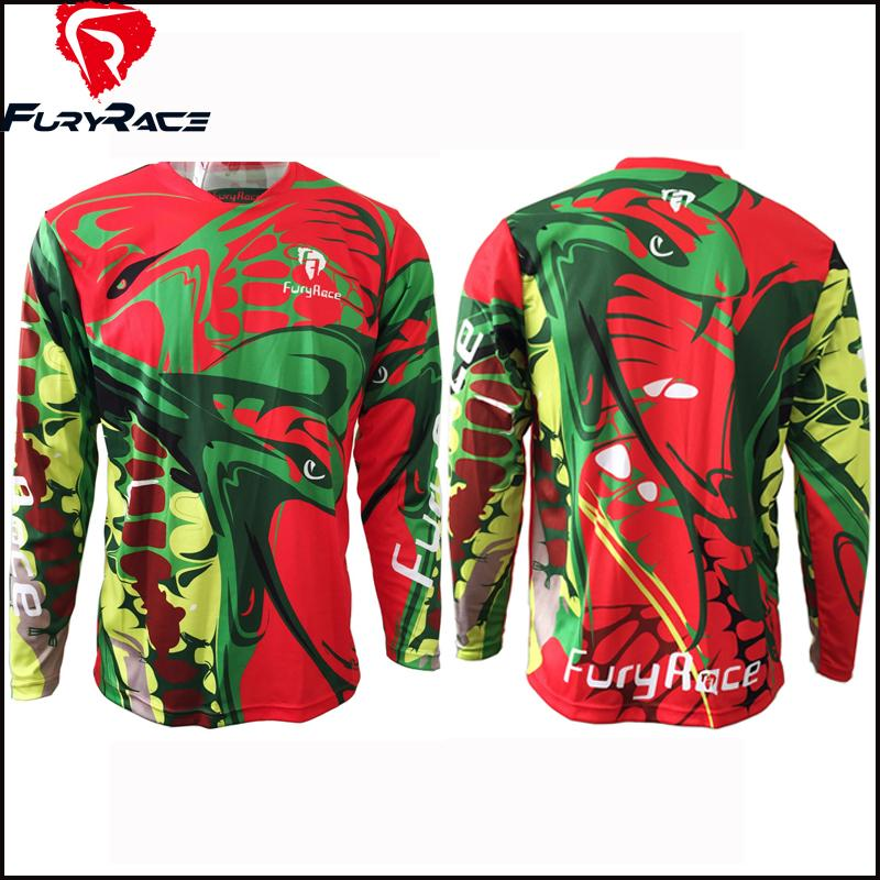 Fury Race Unisex Downhill Jerseys DH Clothing
