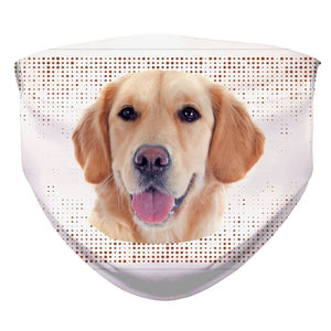"Dogmania ""Golden Retriever"" Face Cover"