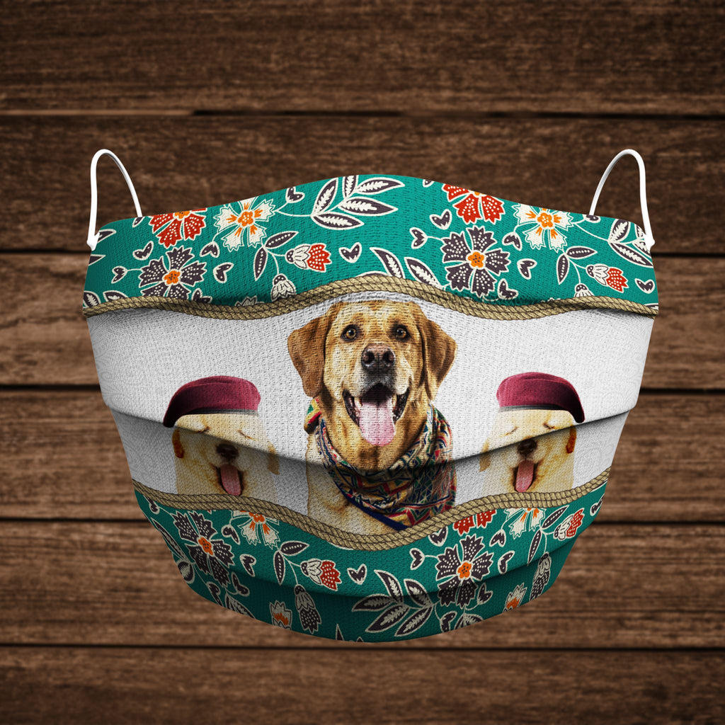"Dogmania ""Golden Retriever Family"" Face Cover"