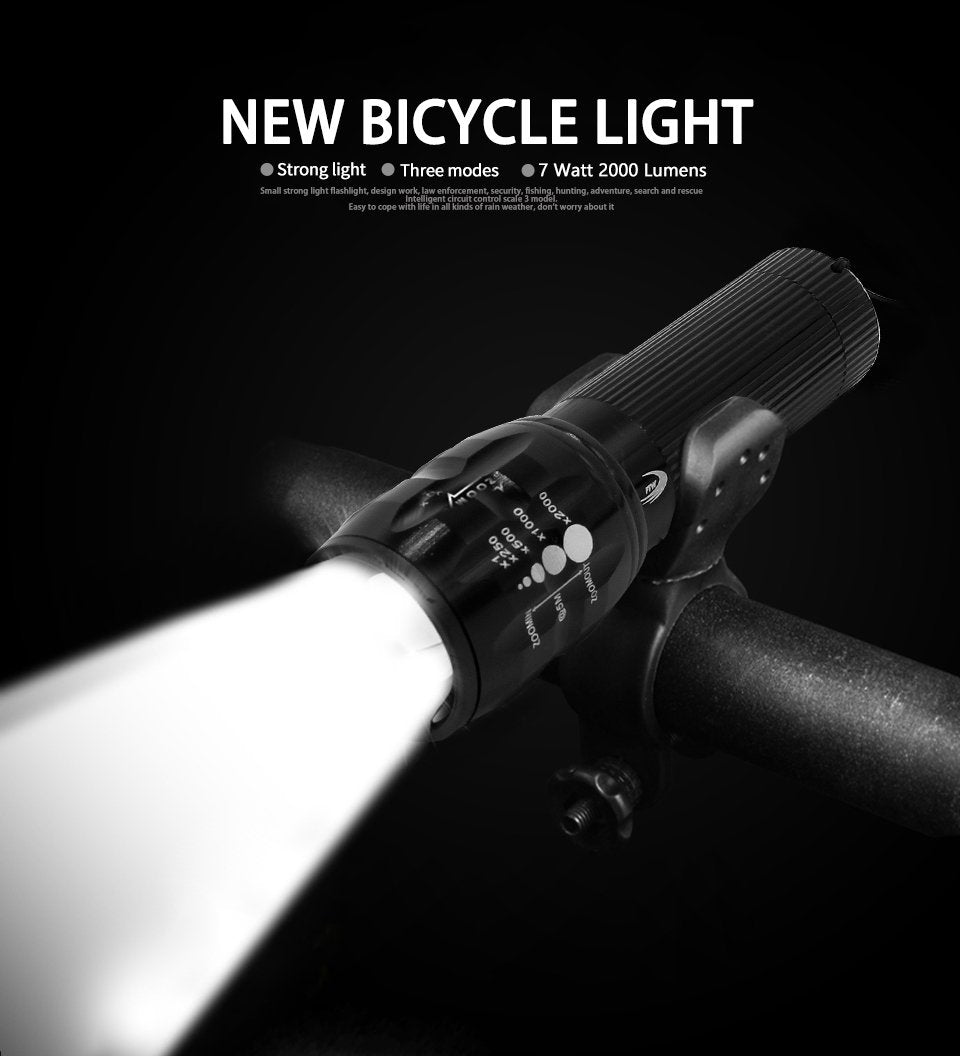 """Feel the wind"" Bicycle Light"