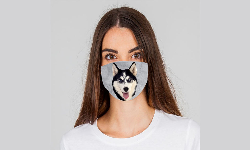 "Dogmania ""Husky"" Face Cover"