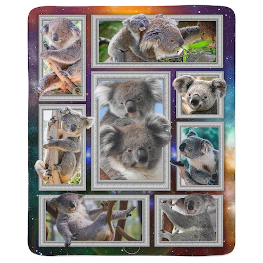 MindNature Koala Fleece Sherpa Blanket