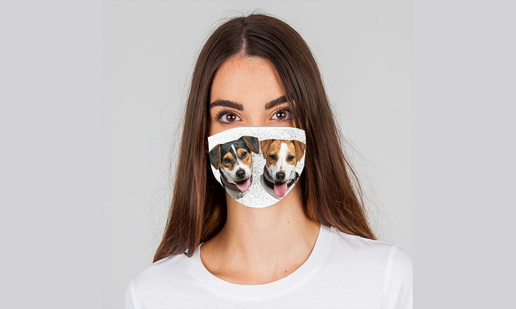 "Dogmania ""Beagle"" Face Cover"