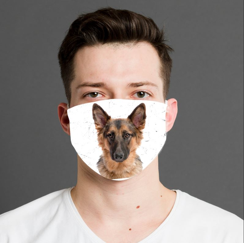 "Dogmania ""German Shepard"" Face Cover"