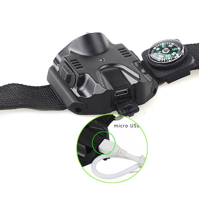The Worlds most robust, waterproof tactical LED Wrist Watch Light