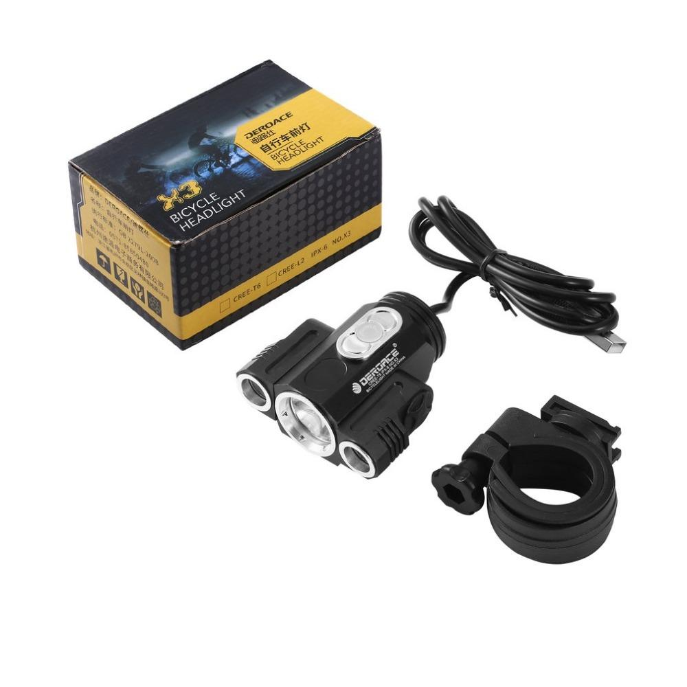 LumiPower T6 Bike Front Light