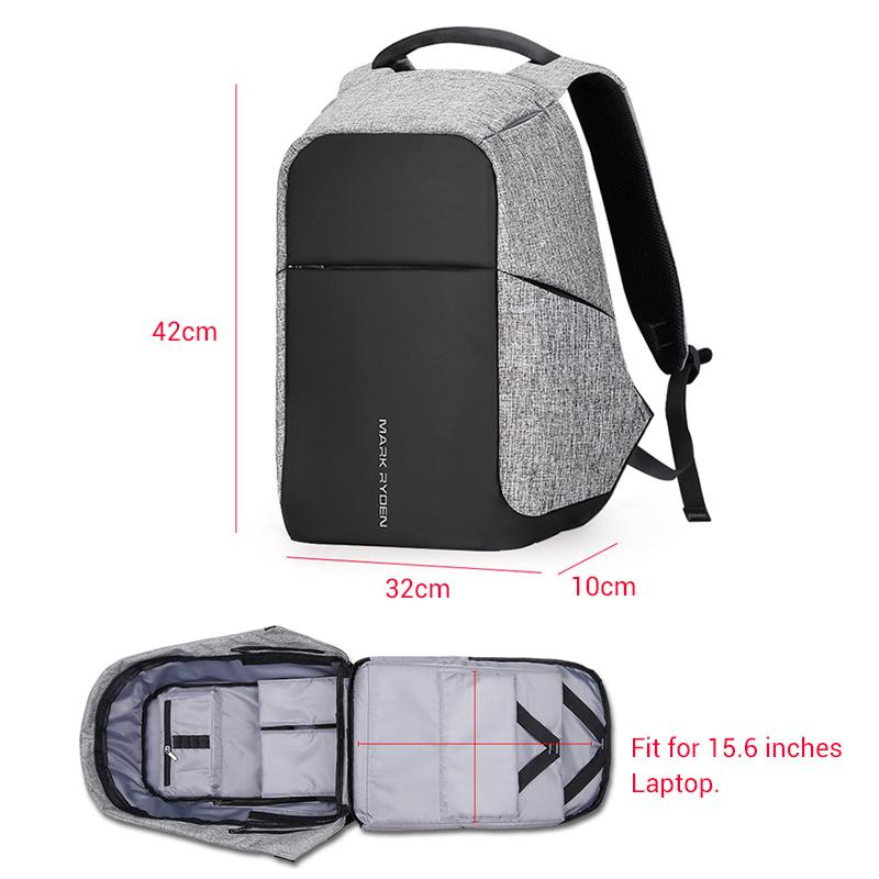 M.R. Designer Series Anti-Theft Work & Travel Backpack