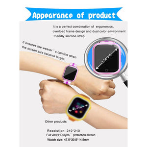 3G Touch GPS Tracker Kids Smartwatch