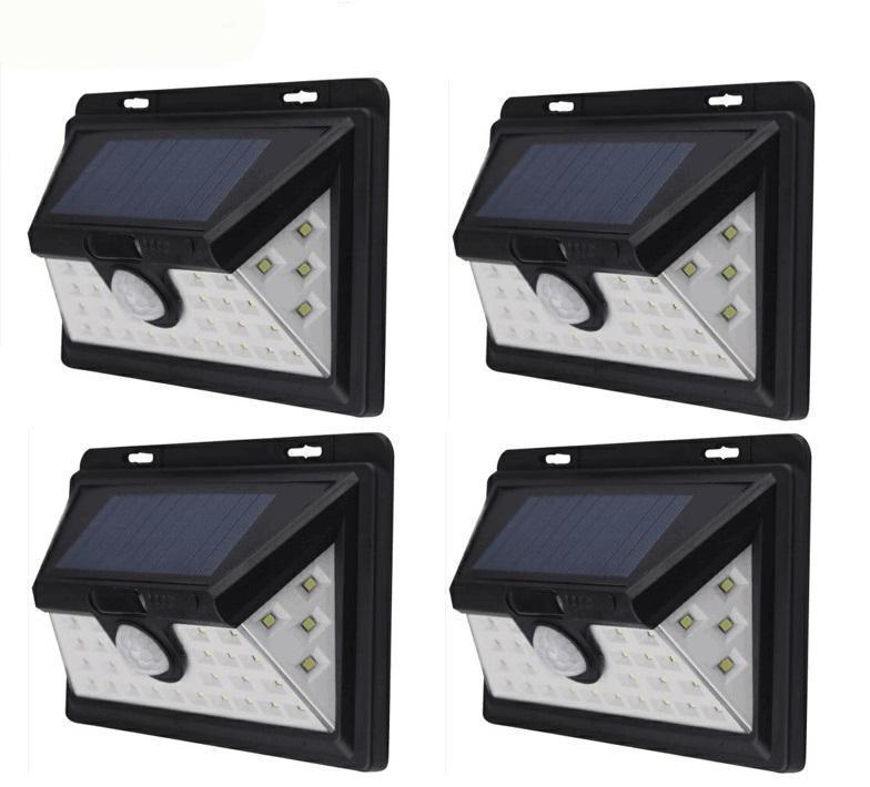 SOLAREX - solar powered Security Motion Sensor Light