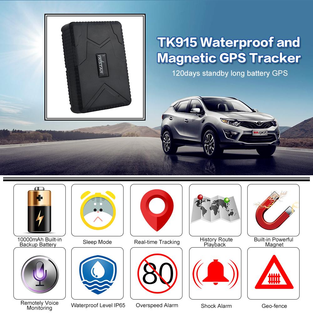 TRACKMASTER GPS Car Tracker
