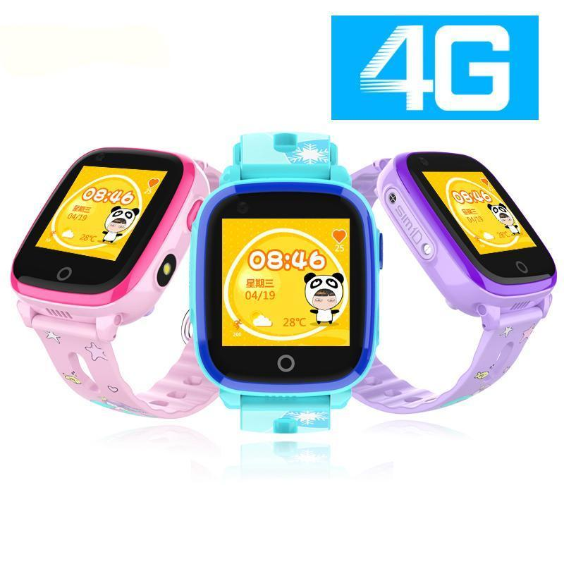 4G Touch Waterproof GPS Kids Smartwatch