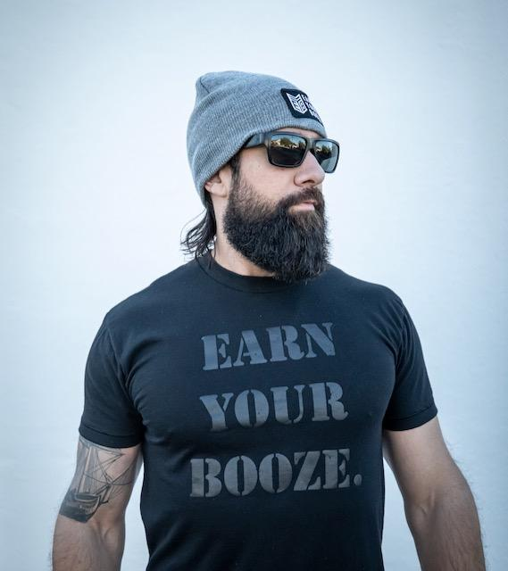 Earn Your Booze Beanie (3 COLORS)Earn Your Booze