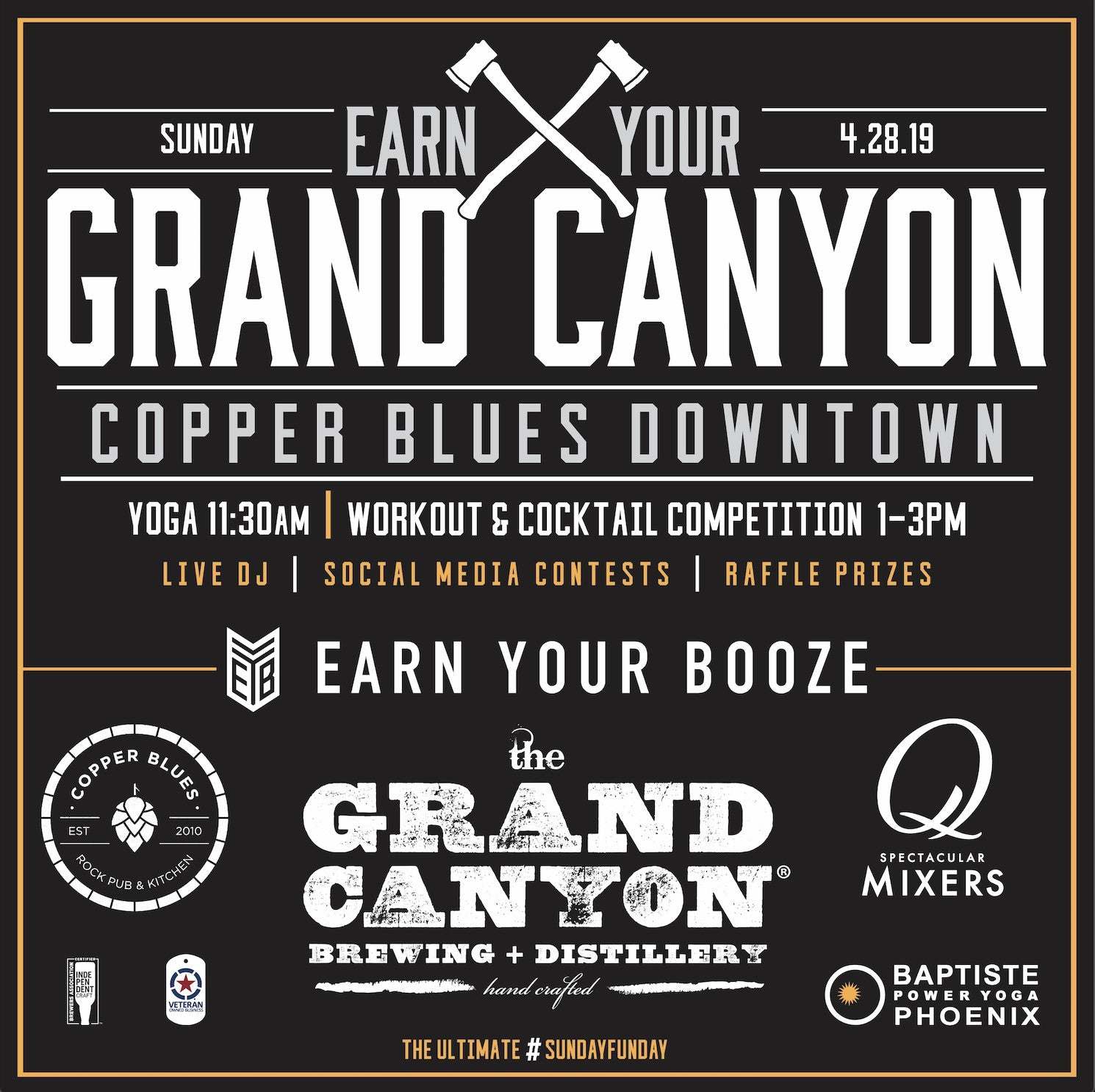 Earn Your Grand Canyon | Copper Blues PHXEarn Your Booze