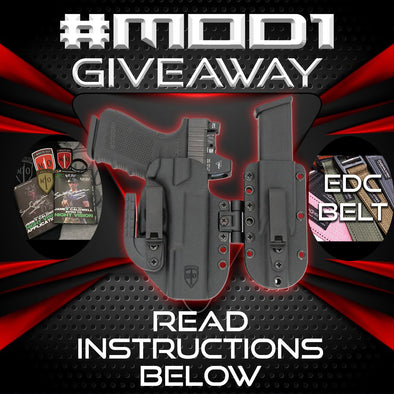 For the entire month of August, we are celebrating the success of the MOD1 Holster system