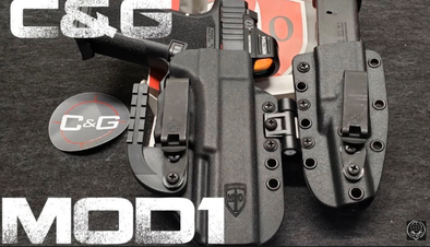Another GREAT review of our flagship holster, the #MOD1 by TacticalAdv