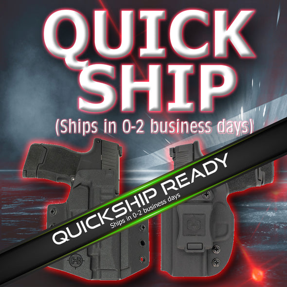 Quickship Kydex Holsters